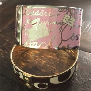 Coach bangles for sell